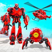 Futuristic Ball Robot Transform: Robot Games