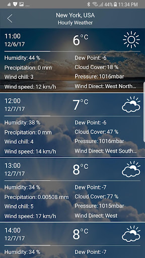Weather app android2mod screenshots 3