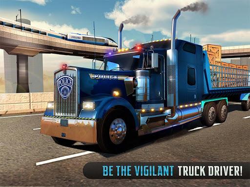 Police Train Shooter Gunship Attack : Train Games  Screenshots 13