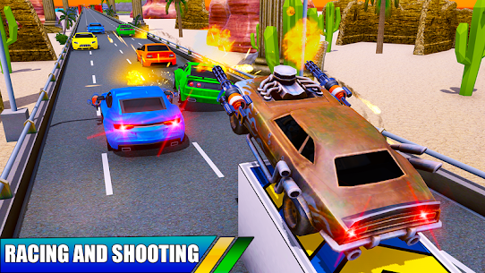 Car Shooting Battle Crash 2019 Hack Cheats (iOS & Android) 1
