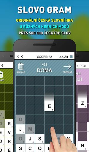 Slovo Gram - Česká Slovní Hra (verze zdarma)  screenshots 1