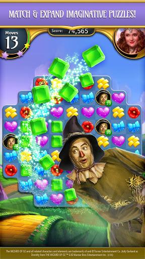 The Wizard of Oz Magic Match 3 Puzzles & Games apktram screenshots 4