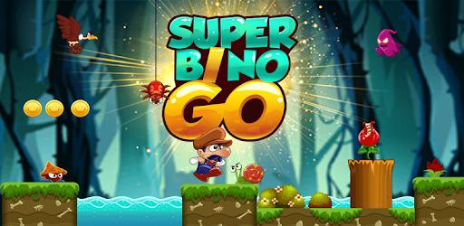 Super Bino Go: New Free Adventure Jungle Jump Game Versi 1.5.5