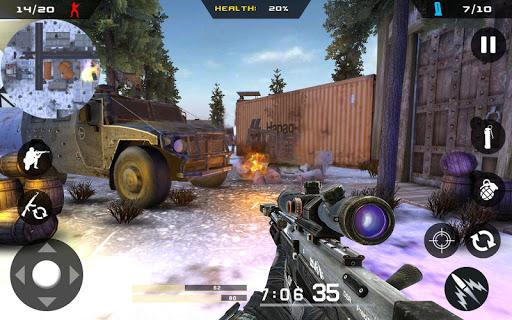 Winter Mountain Sniper - Modern Shooter Combat screenshots 16