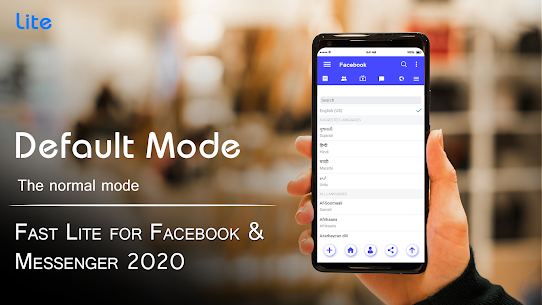 Fast Lite for Facebook & Messenger 2020 2