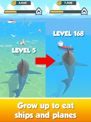 Idle Shark World: Hungry Monster Evolution Game screenshots 20