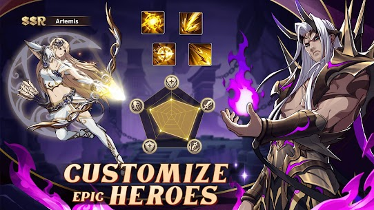 Mythic Heroes  Idle RPG Apk Download NEW 2021 3
