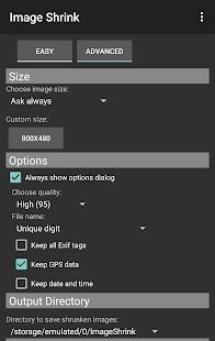 Image Shrink—Batch resize Screenshot