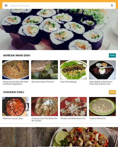 Foto do Korean recipes