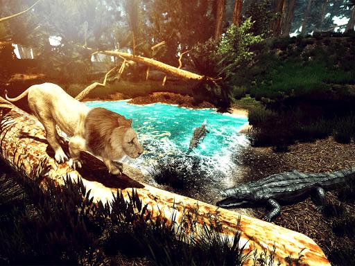 Wild Lion Simulator - Animal Family Survival Game  screenshots 7