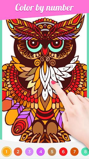 color artbook: number & puzzle screenshot 1