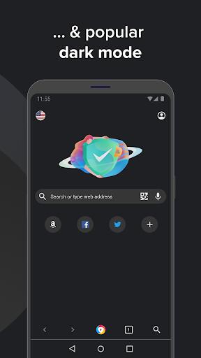 AVG Browser: Fast Browser + VPN & Ad Block 4.0.52 Screenshots 7