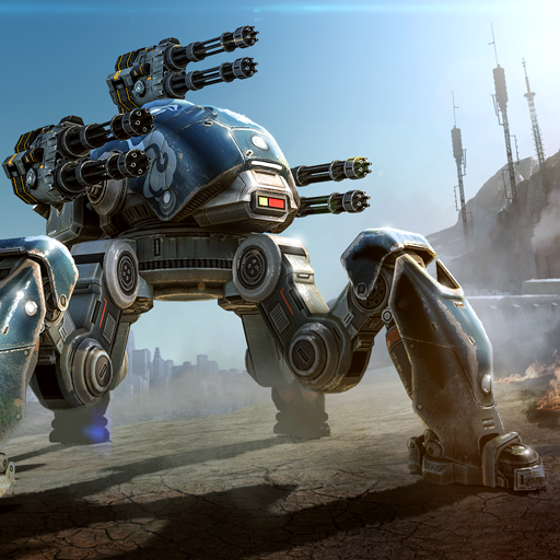 Win the Great Iron War! New 3D mech robot shooter in PvP mode!