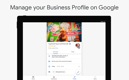 Google My Business - Connect with your Customers 3.33.0.346655744 Screenshots 6
