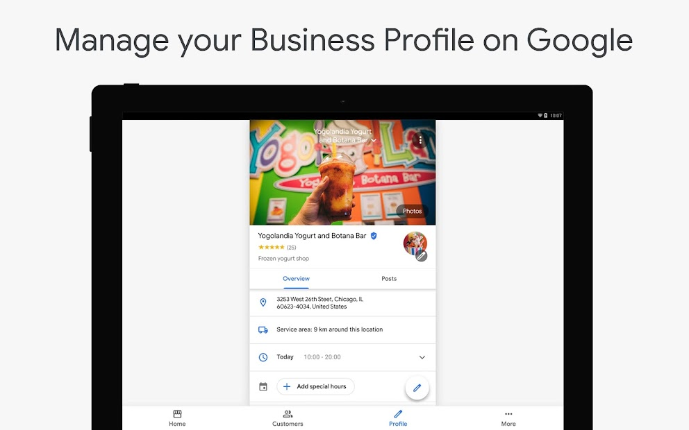 Google My Business - Connect with your Customers screenshot 5