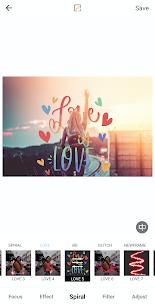 Auto Blur Background Photo Editor Glitch BG Neon Apk app for Android 2