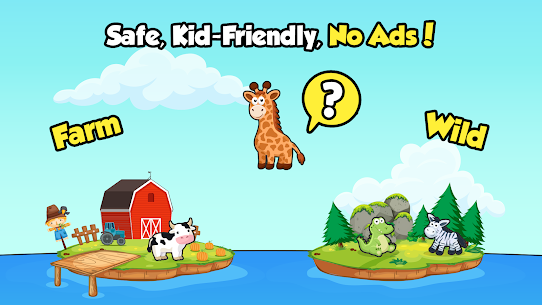 Toddler Games for 2, 3 year old kids – Ads Free 4