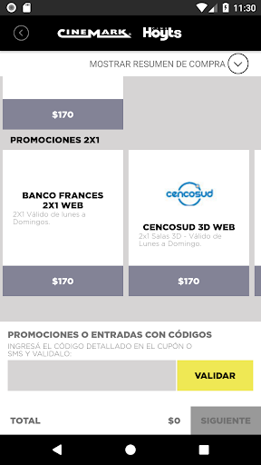 Cinemark Hoyts Argentina android2mod screenshots 3