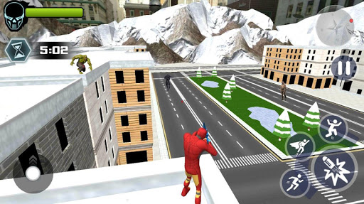 Super Iron Rope Hero - Vegas Fighting Crime 5.0.4 screenshots 2