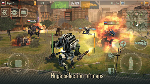 WWR: Warfare Robots Game (PvP of War Robots) screenshots 8