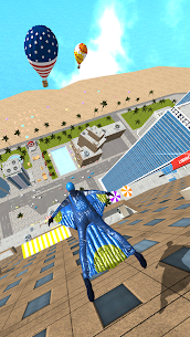 Base Jump Wing Suit Flying 5