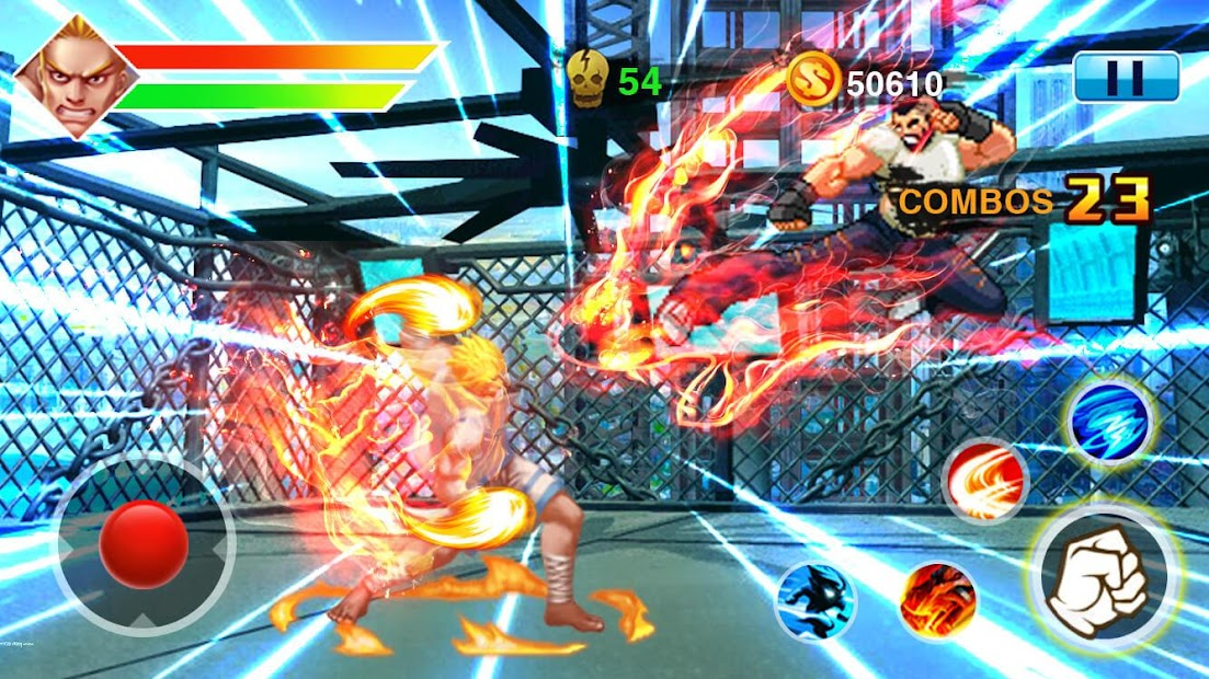 Captura de Pantalla 11 de Street Fighting 4 para android
