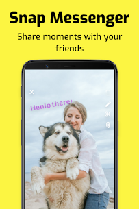 Snap Messenger – Chat with friends 1