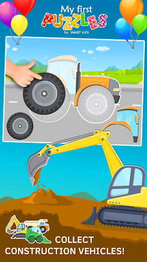 car puzzles for toddlers screenshot 1