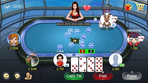 Domino Rummy Poker Sibo Slot Hilo QiuQiu 99 Gaple Apkfinish screenshots 11