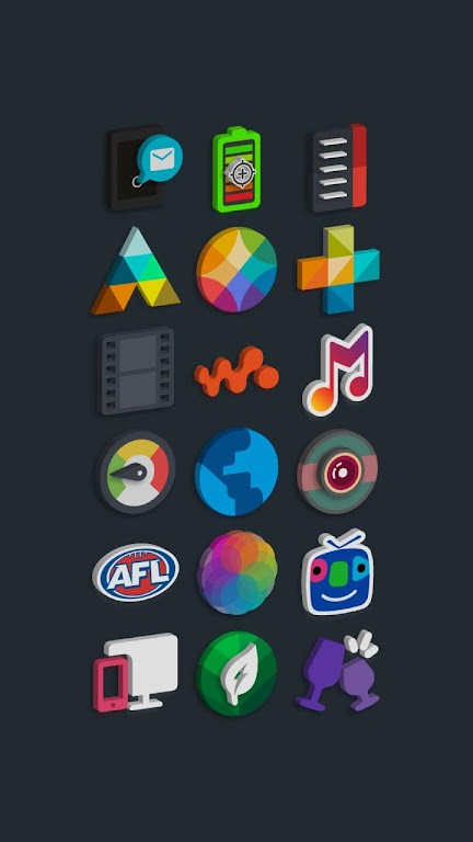 Tigad Pro Icon Pack  poster 12