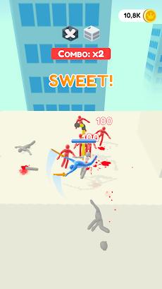 Jelly Fighter: カラーキャンディーとスティックマンゲームのおすすめ画像5