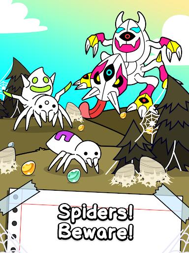Spider Evolution - Merge & Create Mutant Bugs screenshots 5