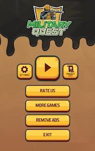 Military Quest APK + MOD (Unlimited Money) 1