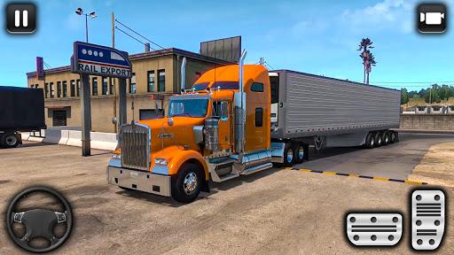 euro un camion parking défi: conduite simulateur APK MOD screenshots 5