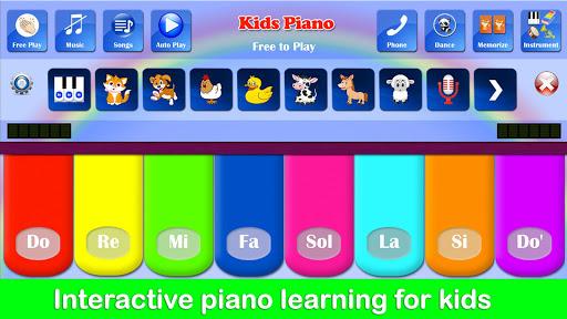 Kids Piano Free 2.8 Screenshots 1