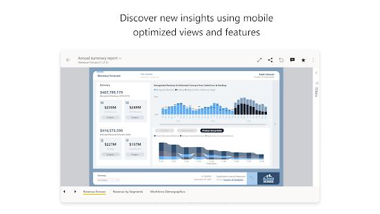 Microsoft Power BIu2013Business data analytics 2.2.210811.2141709 Screenshots 7