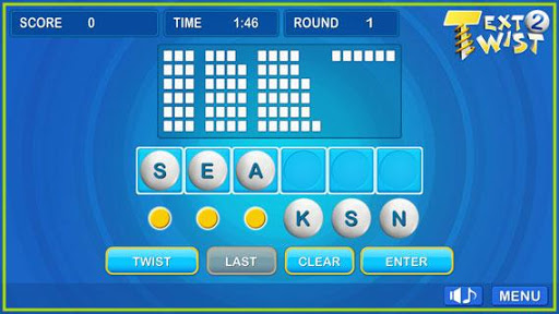 Text Twist 2-Puzzle Word Game 1.0.8 Screenshots 3
