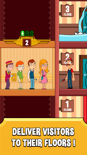 Hotel Elevator: Fun Simulator Concierge modiapk screenshots 1