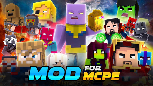 Mods for Minecraft PE by Friday  screenshots 1