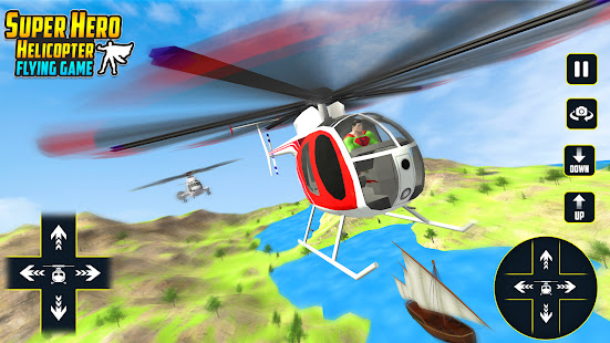 Superhero Helicopter Race 1.0.1 APK +  (Unlimited money)