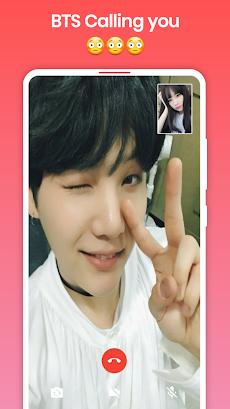 BTS Video Call : Fake Video Call BTSのおすすめ画像5