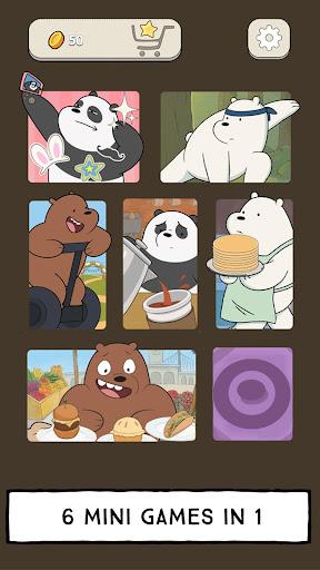 We Bare Bears - Free Fur All: Mini Game Arcade apkmartins screenshots 1