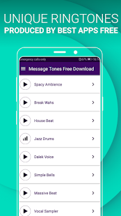 SMS Sounds and Tones Free - Message Ringtones Screenshot