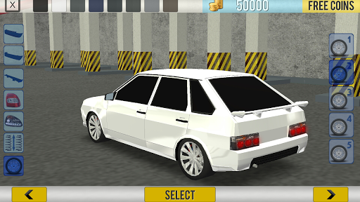 Russian Cars: 99 and 9 in City 1.2 screenshots 8