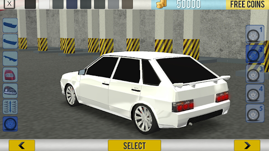 Russian Cars: 99 and 9 in City screenshots 12