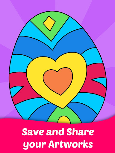 Easter Egg Coloring Game For Kids  screenshots 3