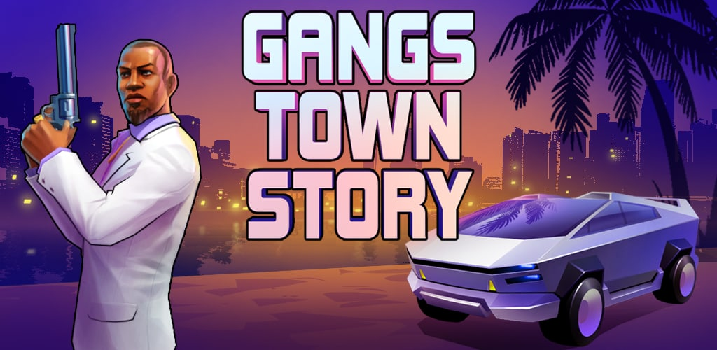 GTS. Gangs Town Story. Action open poster 0