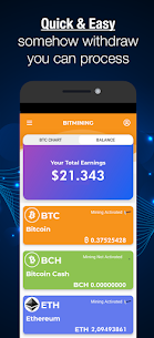 BitMine Pro – Crypto Cloud Mining & btc miner For Android 3