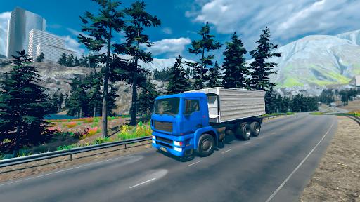 Euro truck simulator 2021: New truck driving games  screenshots 1