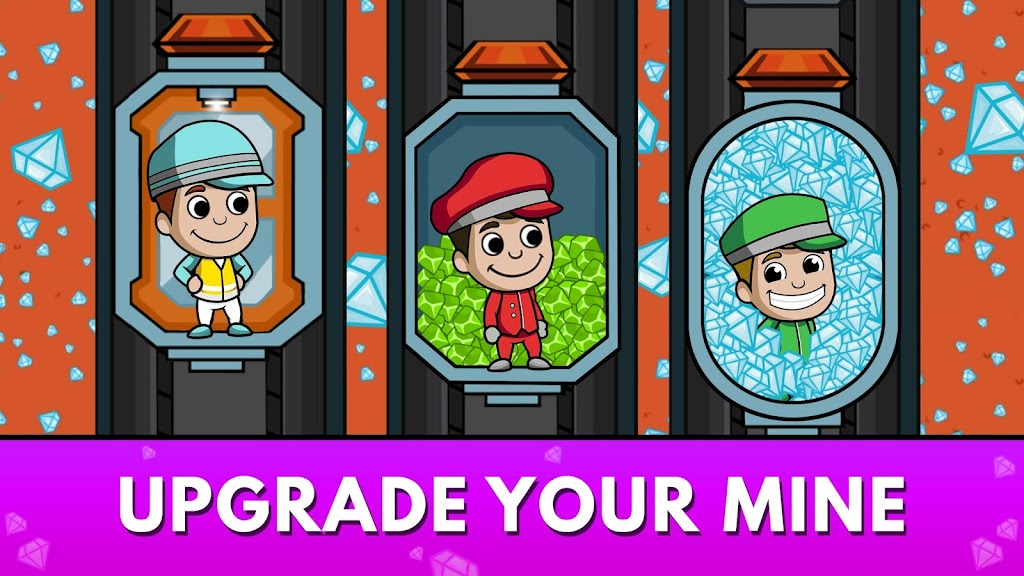 Idle Miner Tycoon: Gold & Cash Game MOD poster 8
